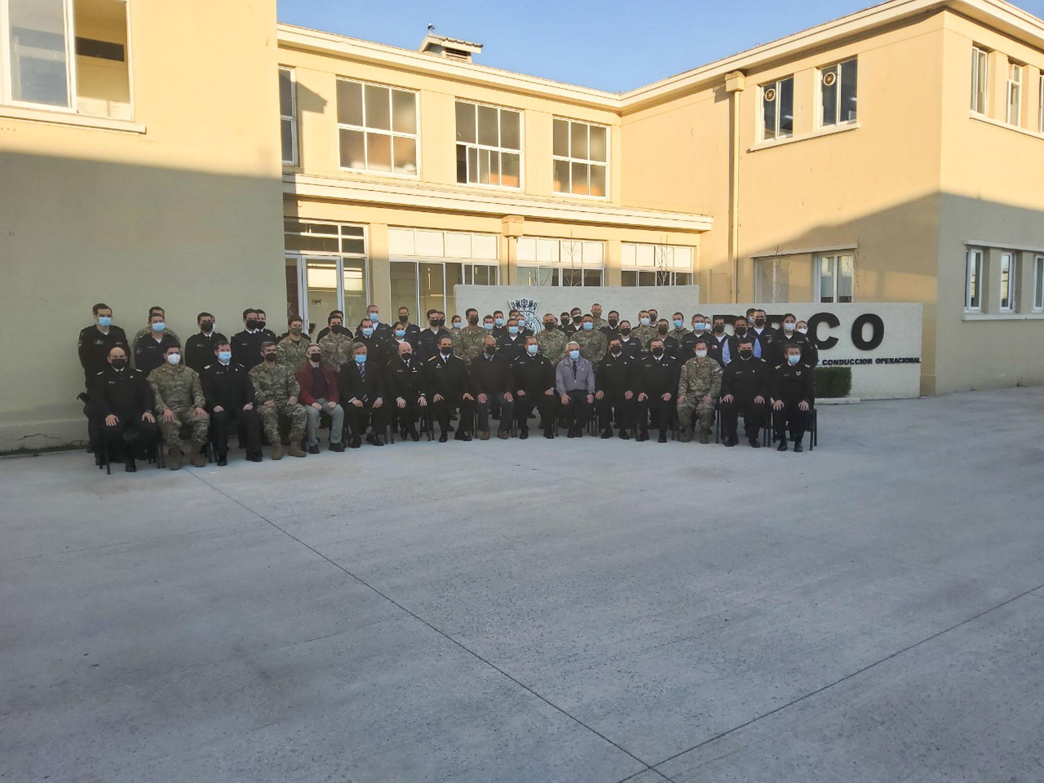 Lee más sobre el artículo Comando de operaciones navales desarrolla ejercicio de planificación y juego de guerra en dependencias del DPCO