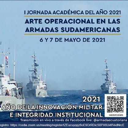 """Lee más sobre el artículo Jornada académica """"Arte operacional en las Armadas sudamericanas"""""""