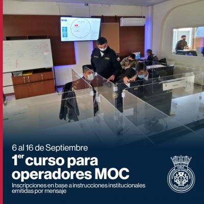 1er curso operadores MOC